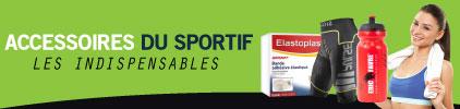Catégories Accessoires du sportif - Prix bas