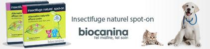 Voir la gamme de produit Biocanina Insectifuge